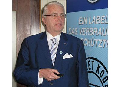 August Schürenstedt Vorsitzendes des BfI seit November 2011